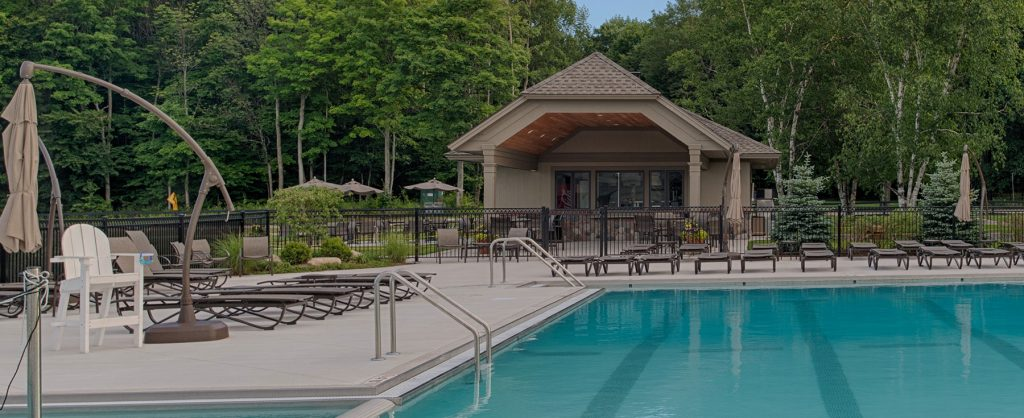 Birchwood Farms Golf Country Club New Pool Commercial Kitchen