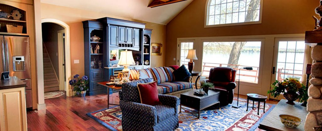Crooked Lake Home Custom Cabinetry