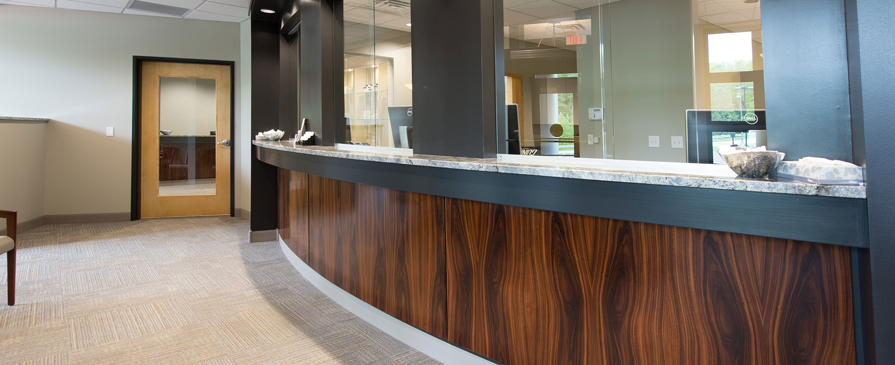 Dermatology Assoc of No Mi Check in Counter