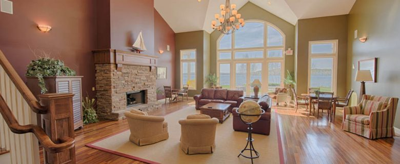 The Shores on Crooked Lake Main Living Room
